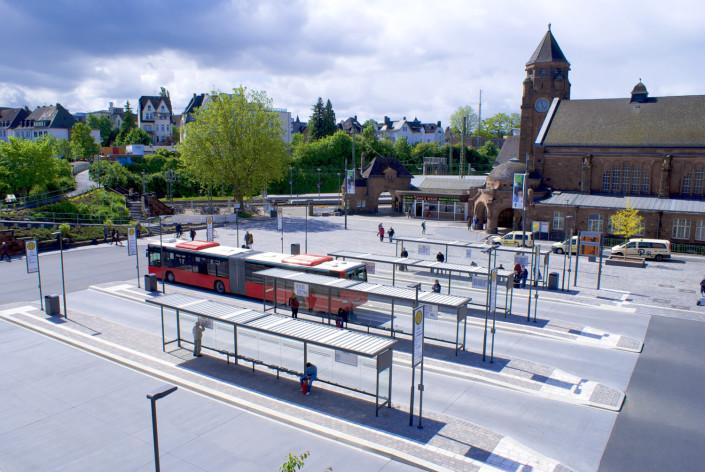 Bahnhofsvorplatz - Foto Peter Eschke