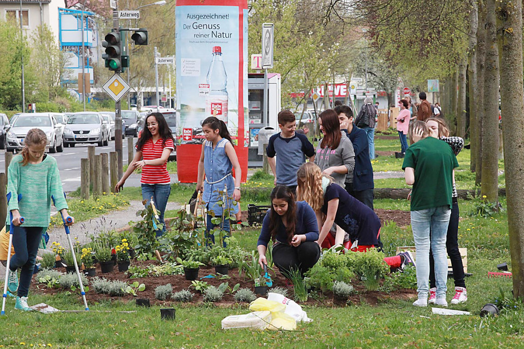 Gartenprojekt in der Nordstadt © Oliver Schepp
