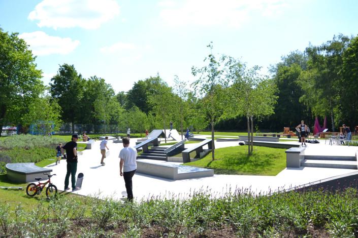 Skateanlage Wieseckaue - Foto Stadtplanungsamt