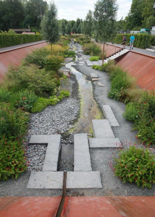 Quellgarten Stadtpark Wieseckaue